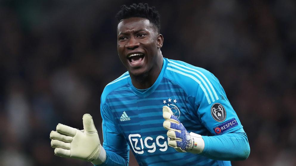 Andre Onana is seeking a new challenge