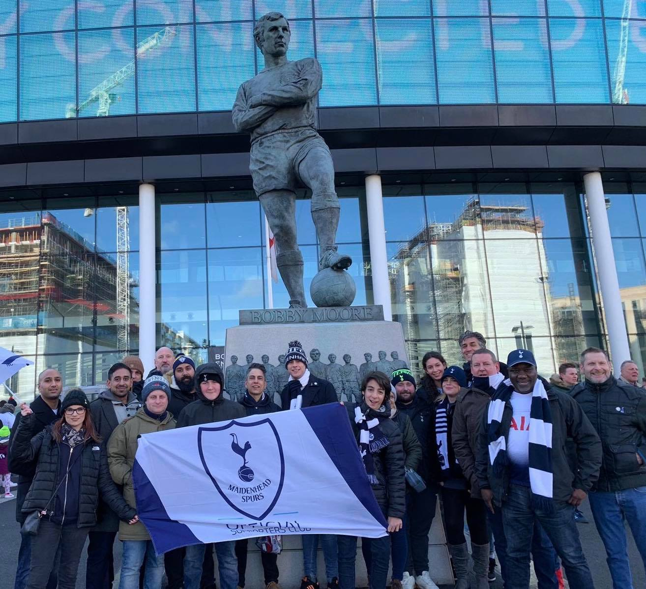 Eric Dier thanked Maiden Spurs Supporters group