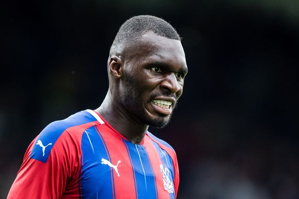 Christian Benteke is suspended for Crystal Palace Tottenham game