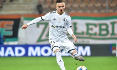 Legia Warsaw youngster Michal Karbownik