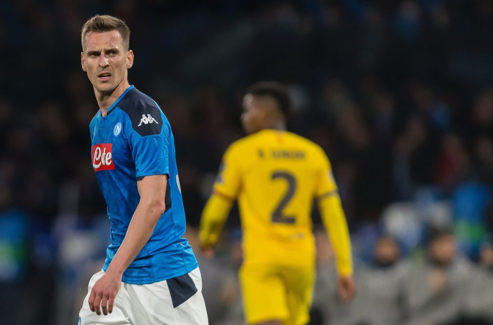 Tottenham hotspur have held talks with Napoli for Arkadiusz Milik