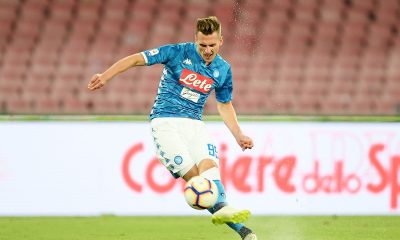 Milik on Tottenham radars