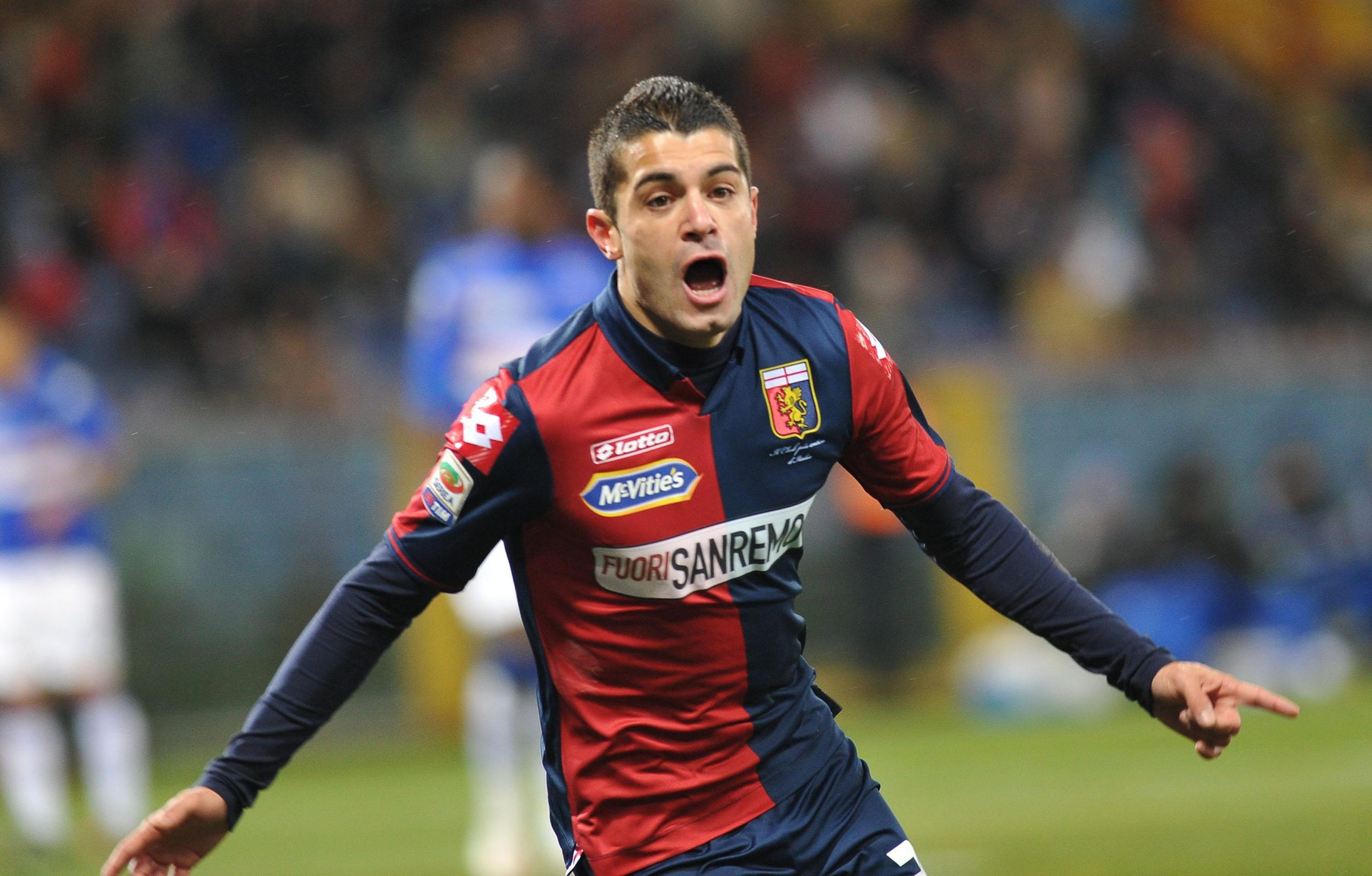 Falque thrived at Genoa