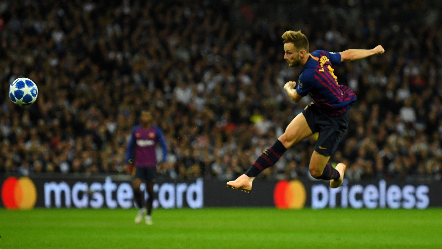 Ivan Rakitic scored a worldie against Tottenhm in the Champions League