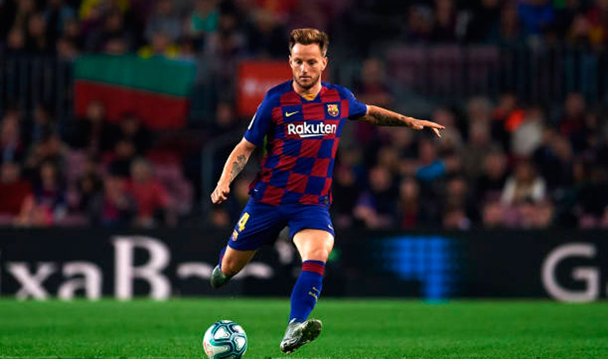 Ivan Rakitic has been linked with a move to Tottenham Hotspur