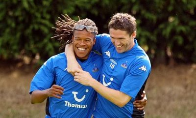 Robbie Keane and Edgar Davids were teammates between 2005 and 2007
