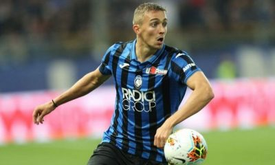 Timothy Castagne in action for Atalanta