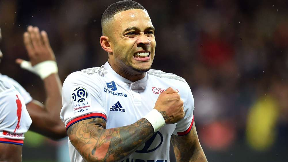 Lyon could sell Depay this summer