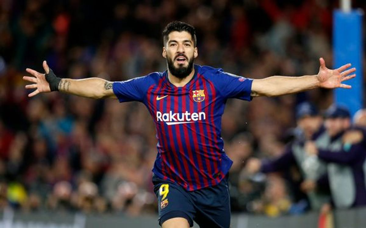 Barcelona are looking tor eplace an aging Luis Suarez