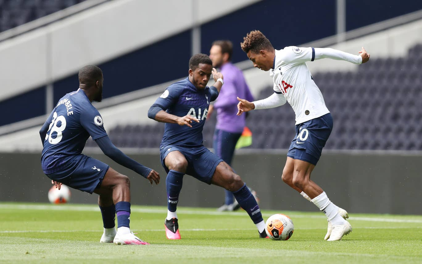 Tottenham Hotspur are finalising preparations for the Manchester United clash