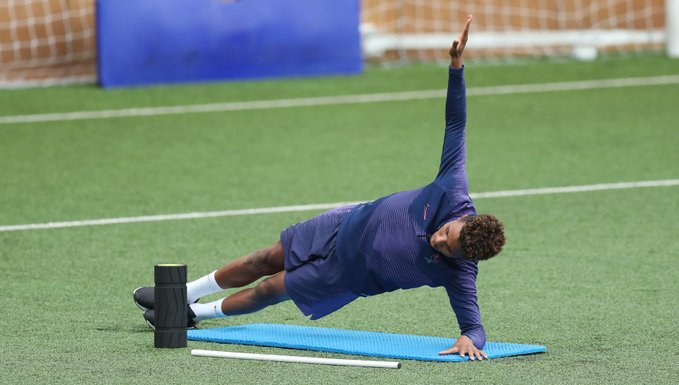 Tottenham January signing Gedson Fernandes in training