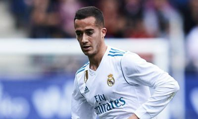 Lucas Vazquez is entering the final year of his contract