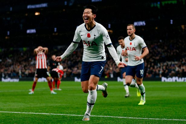 Son Heung-min has been in scintillating form this season