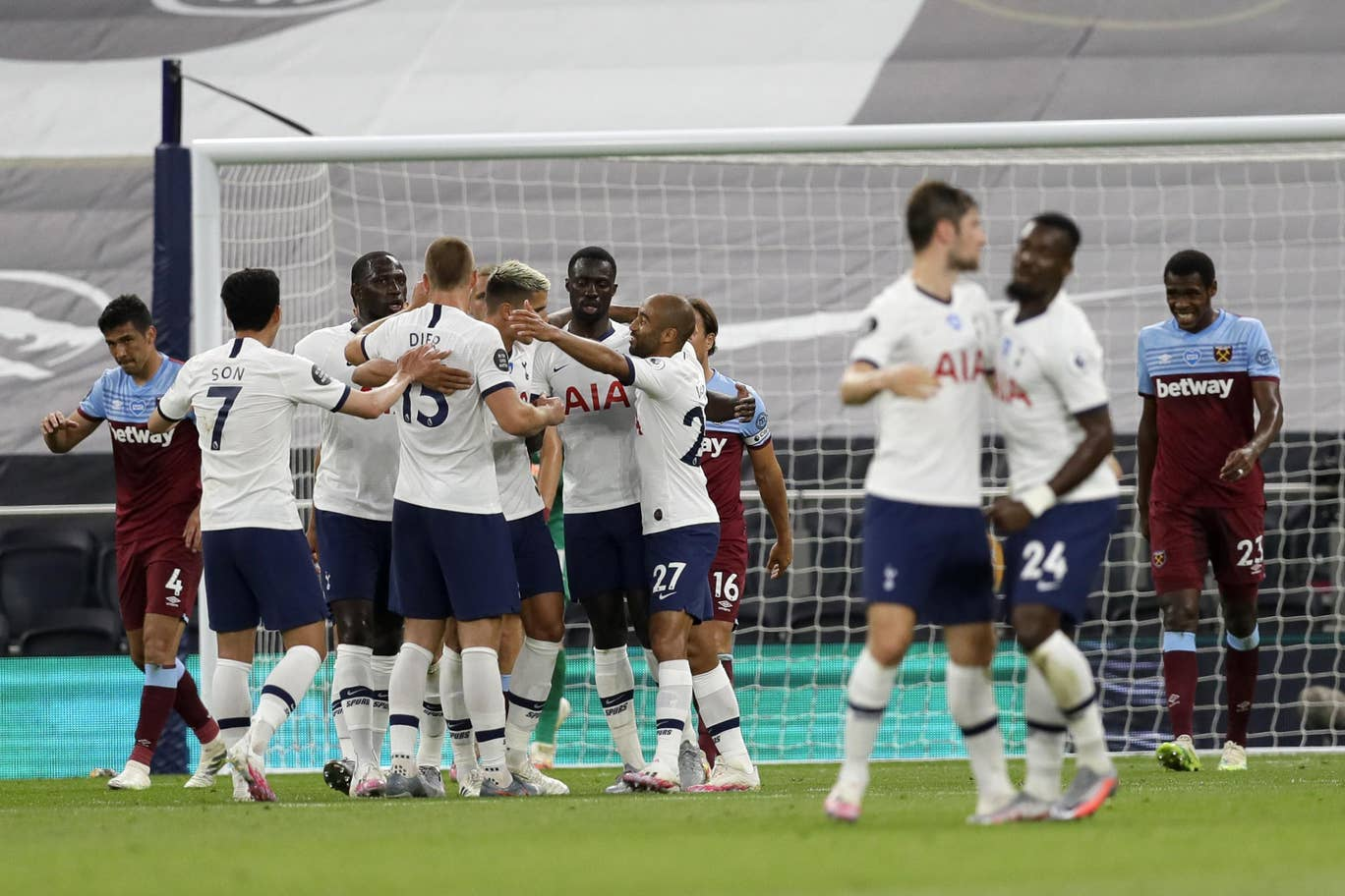 Tottenham beat West Ham United last time out