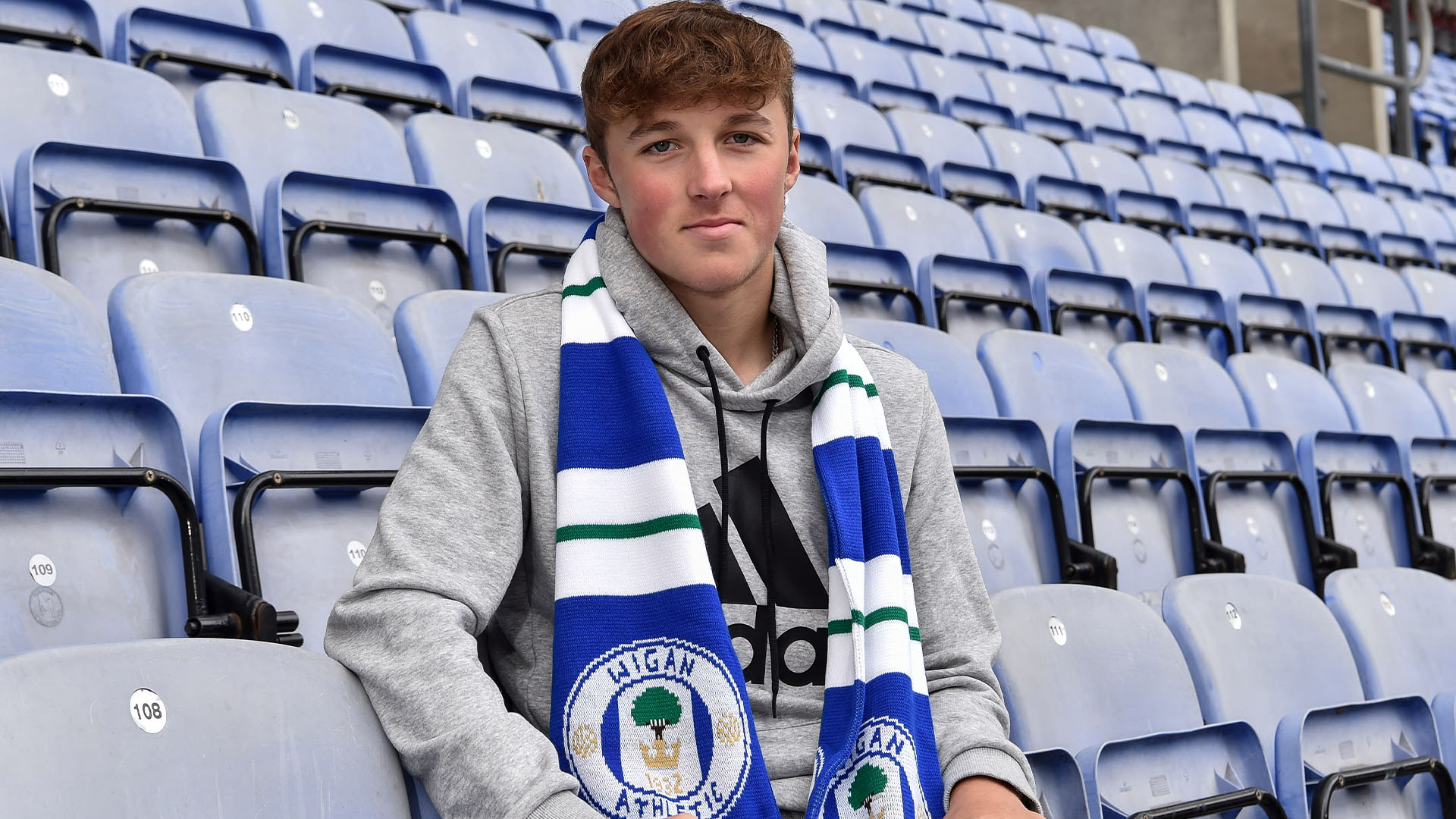 Alfie Devine joined Wigan last year