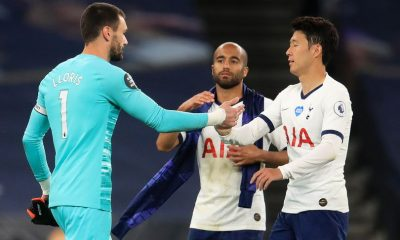 Hugo Lloris Son Heung-min