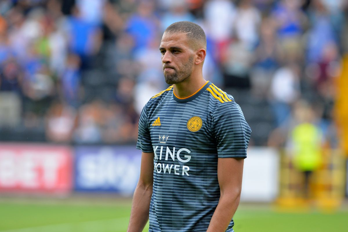 Islam Slimani has been with Leicester since 2016