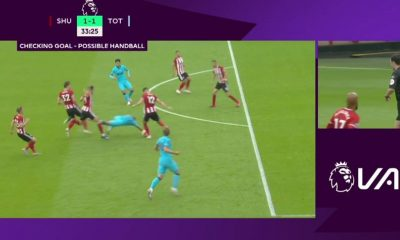 Tottenham had a goal chalked off by VAR (Credit: Football London)