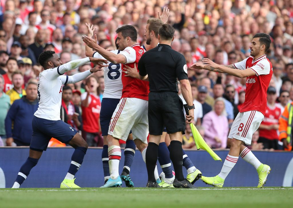 Spurs and Arsenal have heated derbies