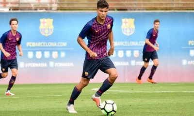Lucas de Vega is a product of Barcelona's youth academy