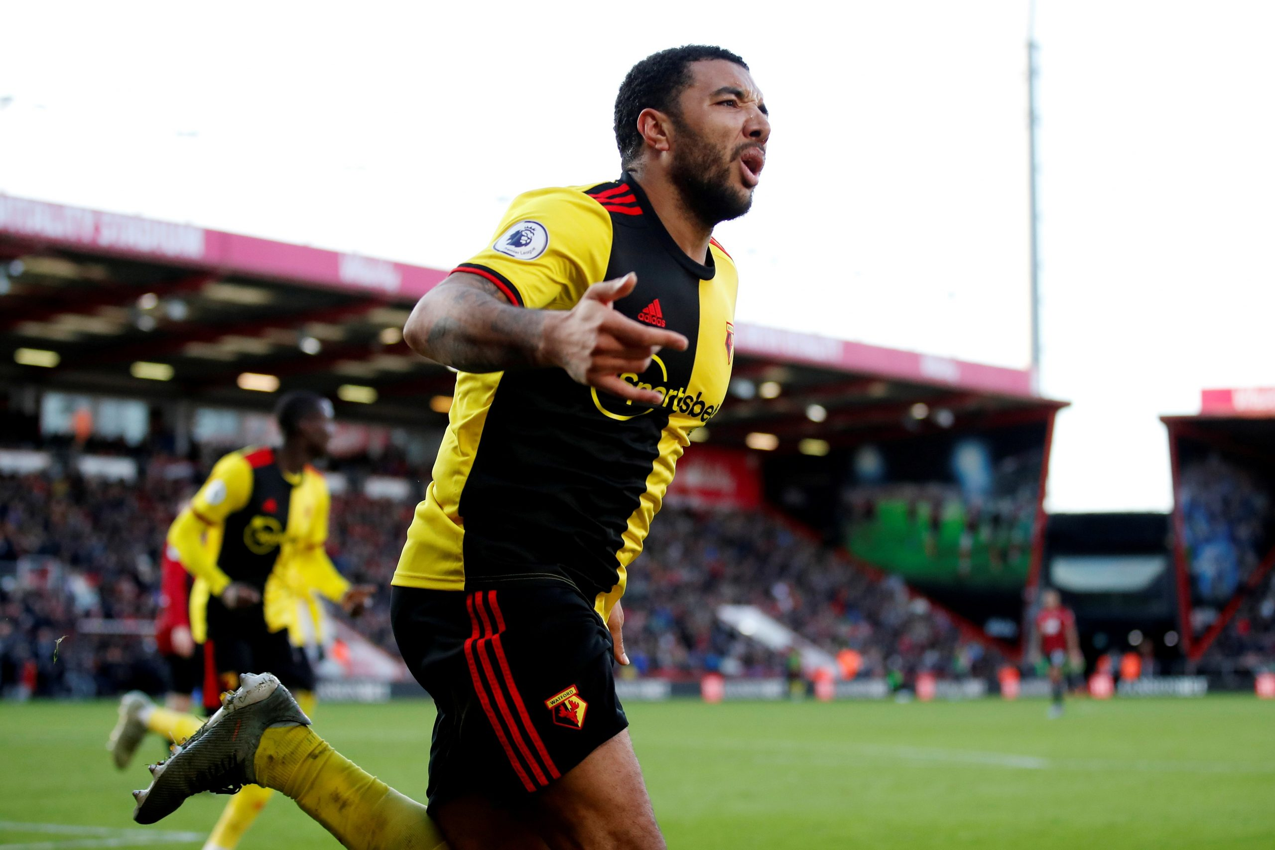 West Brom are leading Tottenham Hotspur in the race for Troy Deeney