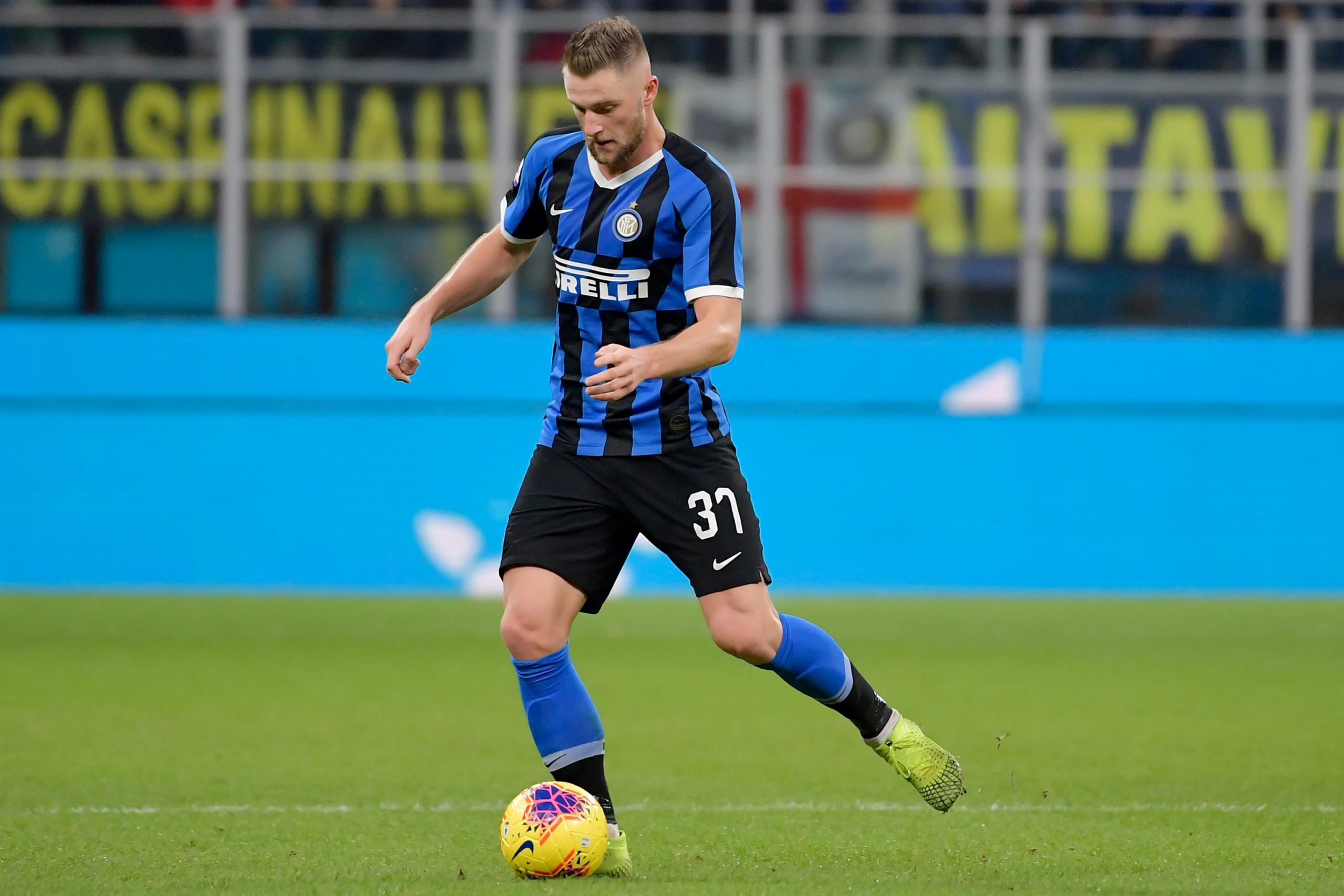 Tottenham Hotspur failed with £30m bid for Milan Skriniar last summer