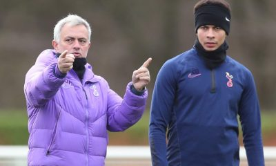 The exit's that way Dele - Mourinho forcing Alli out?
