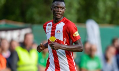 Patson Daka is keen to stay put at Salzburg amidst interest from Tottenham Hotspur