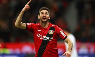 Tottenham have had an approach for Lucas Alario rejected (Getty Images)