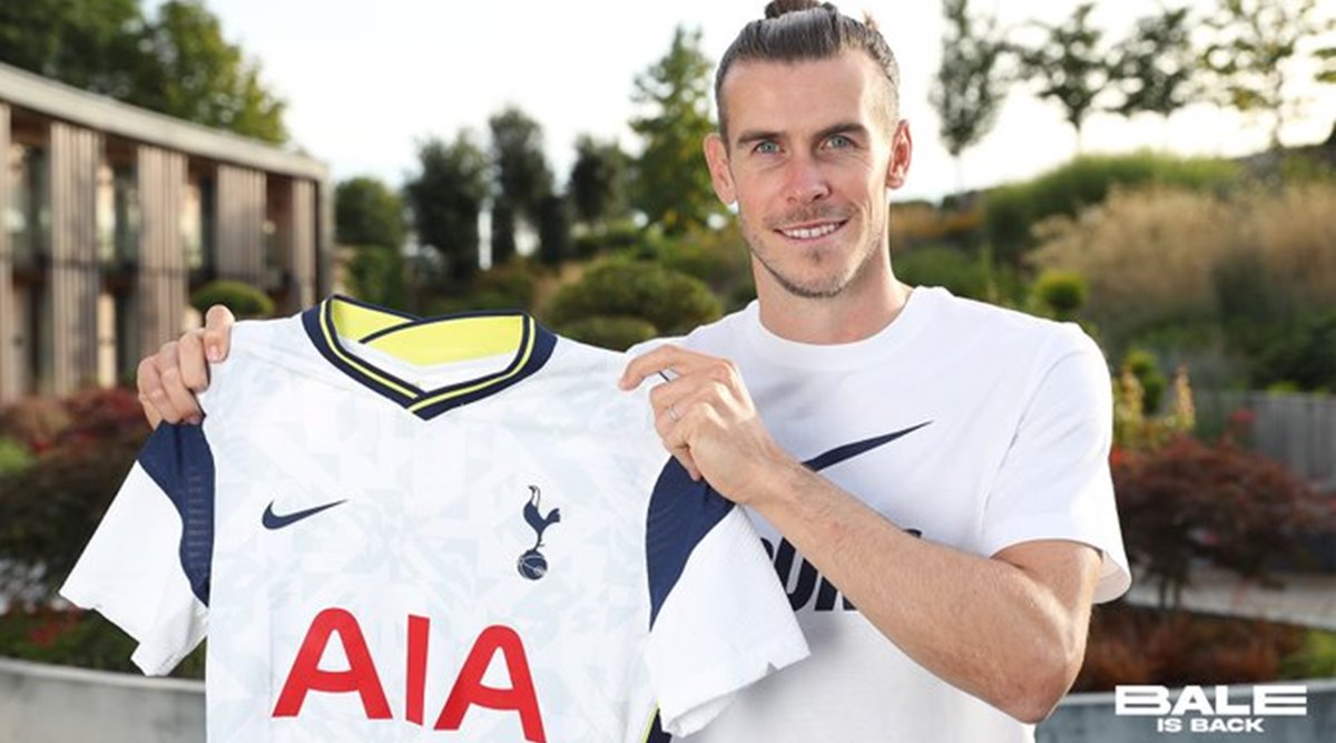 Bale returned to Tottenham last summer.