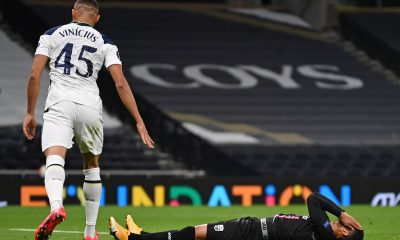 Crlos Vinicius impressed on his Tottenham Hotspur debut