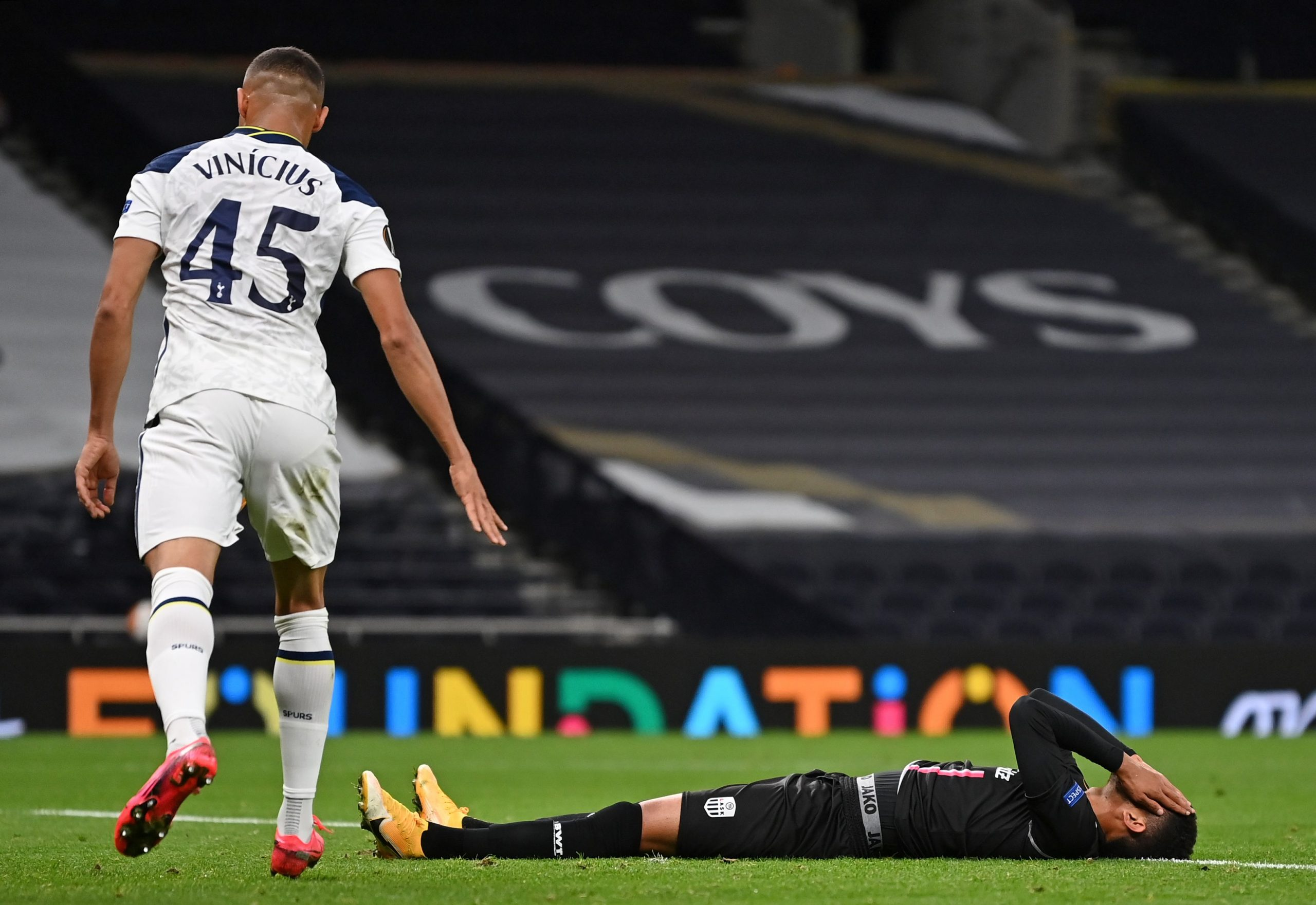 Carlos Vinicius impressed on his Tottenham Hotspur debut
