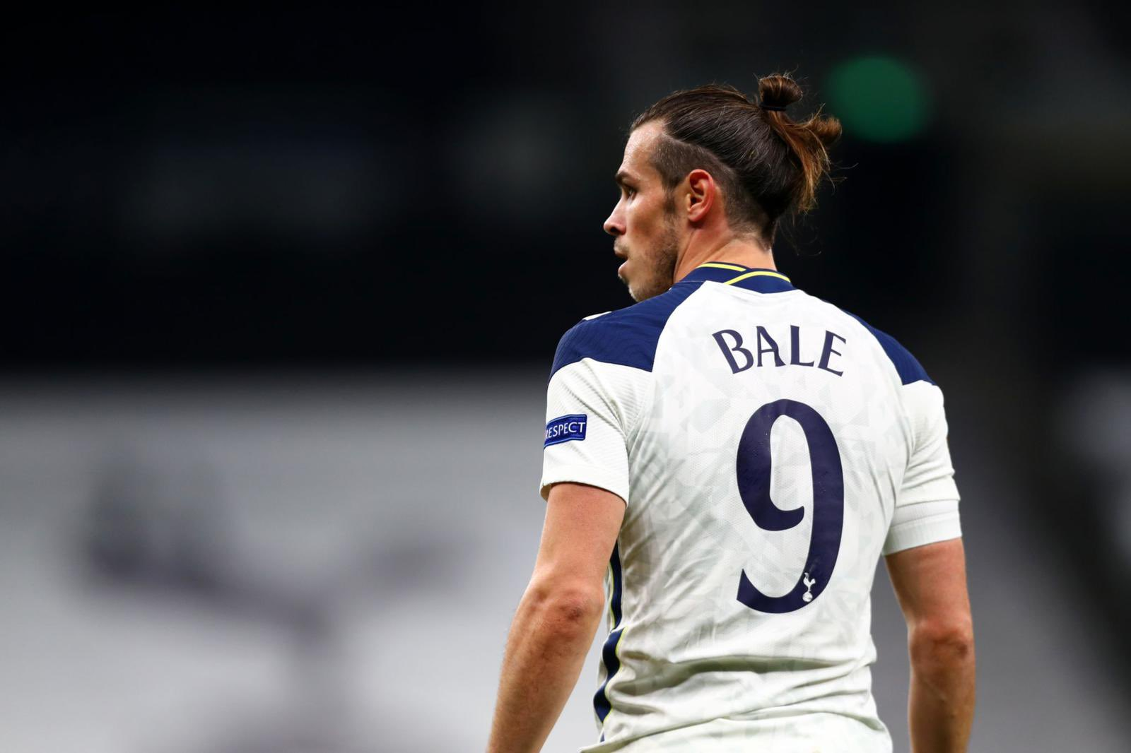 Bale joined Tottenham in the summer of 2020 on a loan move from Madrid.