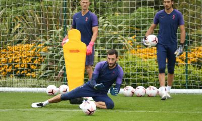 Gazzaniga is behind Lloris and Hart in the pecking order (Photo by Tottenham Hotspur FC/Tottenham Hotspur FC via Getty Images)