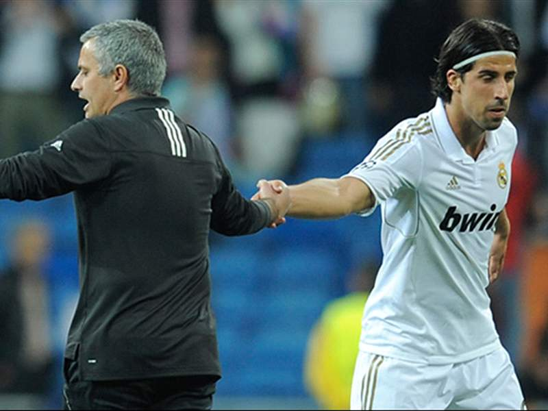 Khedira is open to a reunion with Mourinho