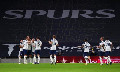 Tottenham Hotspur are top of the table