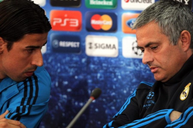 Sami Khedira and Jose Mourinho worked together at Real Madrid (Getty Images)