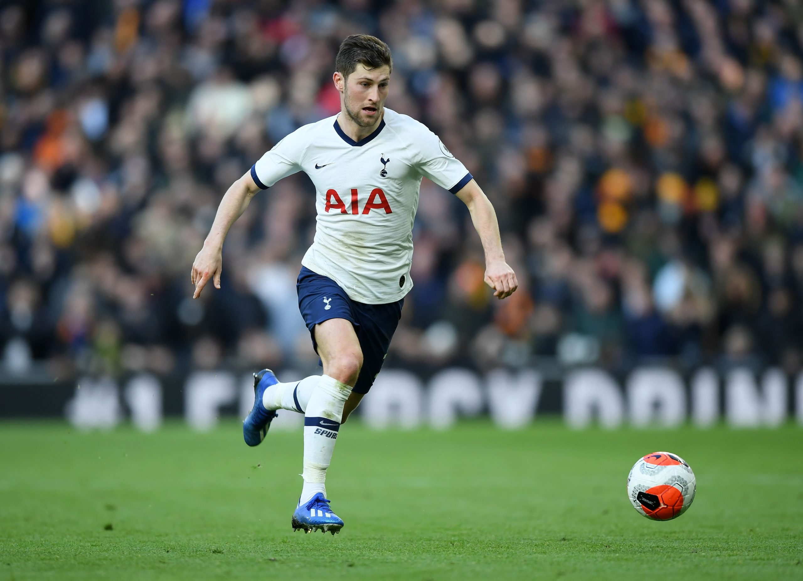 Ben Davies in action for Tottenham Hotspur. (GETTY Images)