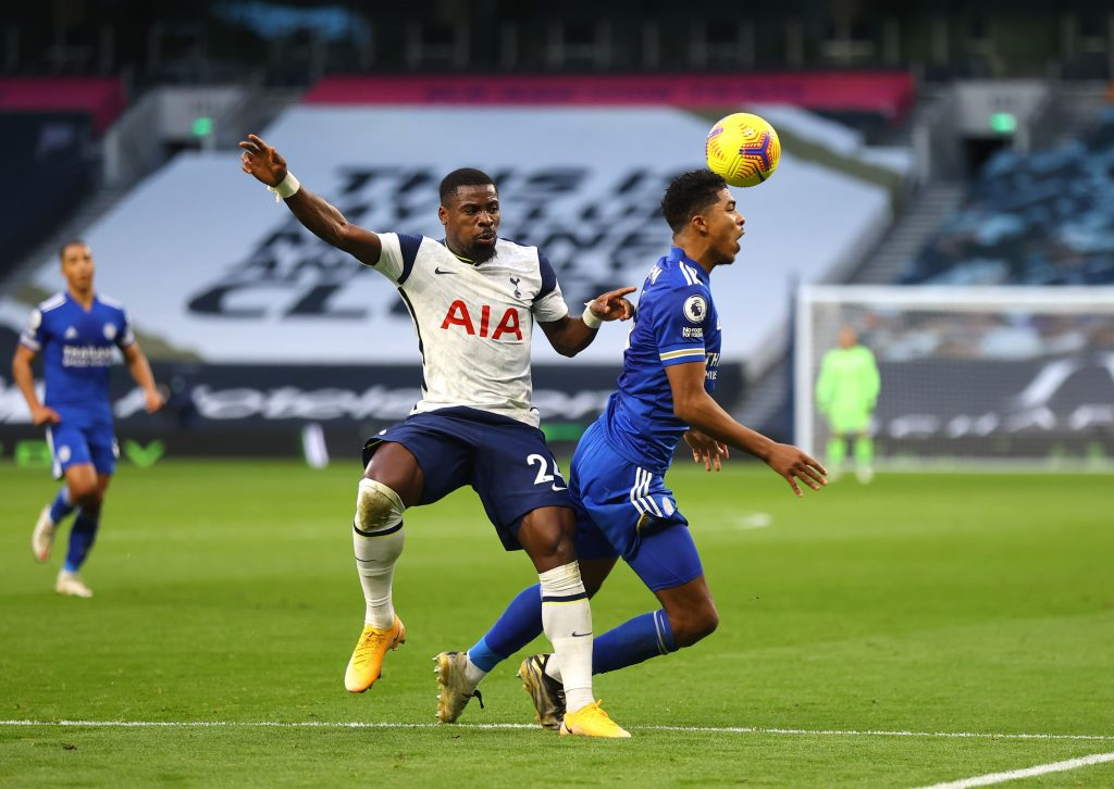 Serge Aurier has become an important player for Tottenham Hotspur under Jose Mourinho. (GETTY Images)