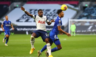 Garth Crooks believes Tottenham Hotspur defender Serge Aurier is back to his old ways after conceding a needless penalty against Leicester City. (GETTY Images)