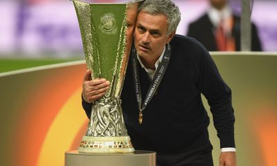Jose Mourinho won the UEFA Europa League in 2017 with Manchester United. (GETTY Images)