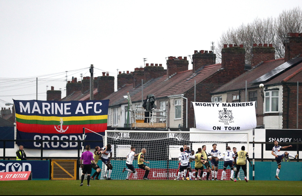 Tottenham Hotspur are scheduled to play Marine AFC at Rossett Park in the FA Cup 3rd round.