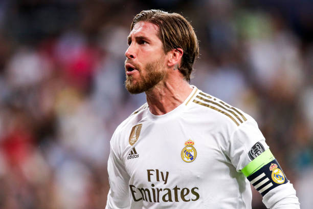 Sergio Ramos is out of contract at the end of the season (Getty Images)