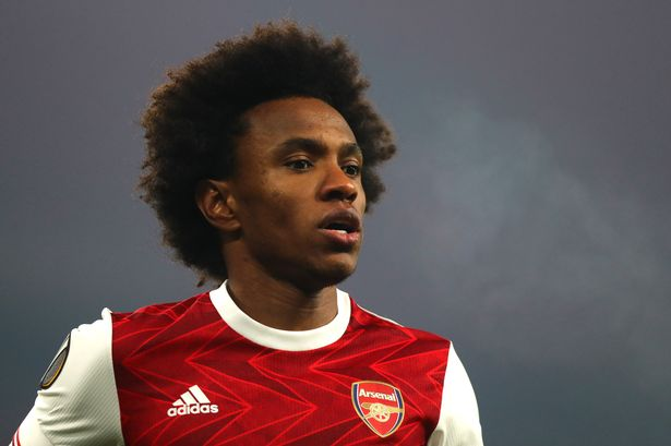 Willian joined Arsenal in the summer (Getty Images)