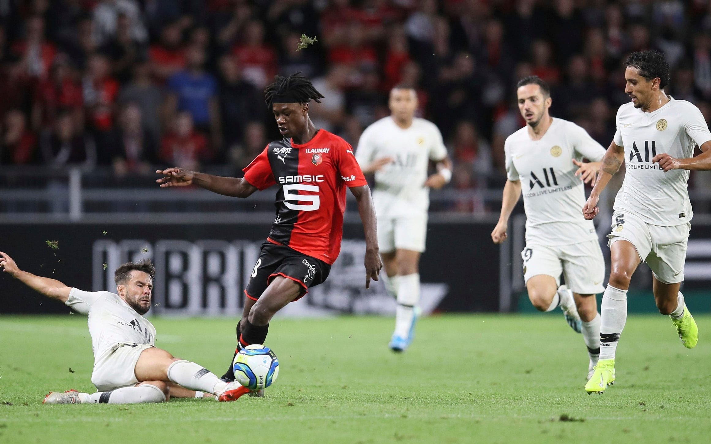 Camavinga is keen to extend his stay at Rennes