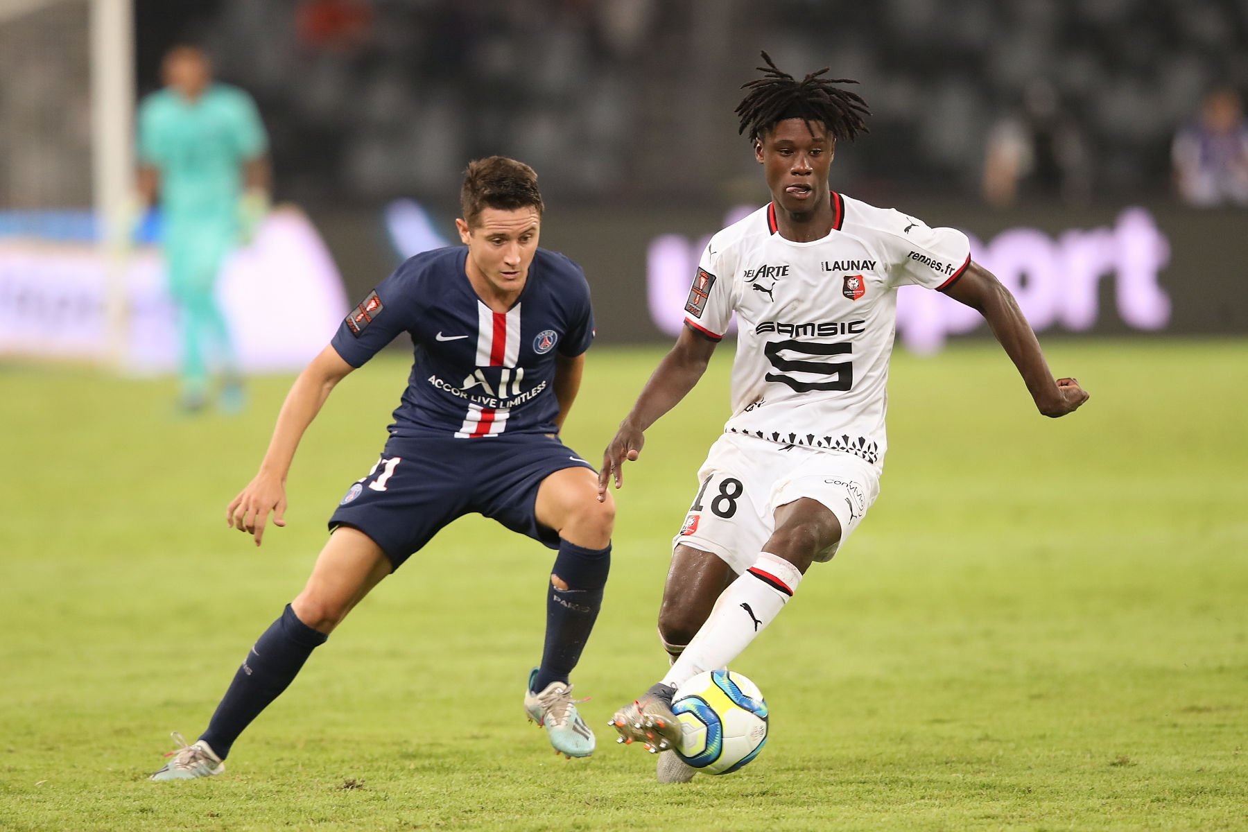 Tottenham Hotspur have been handed a blow in their efforts to sign Eduardo Camavinga