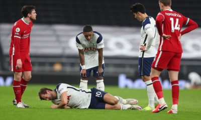 Jose Mourinho gives an update on Tottenham Hotspur star Harry Kane after he injured both ankles against Liverpool