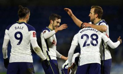 Harry Winks was on target against Wycombe