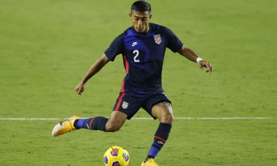 Julian Araujo in action for the United States of America. (GETTY Images)