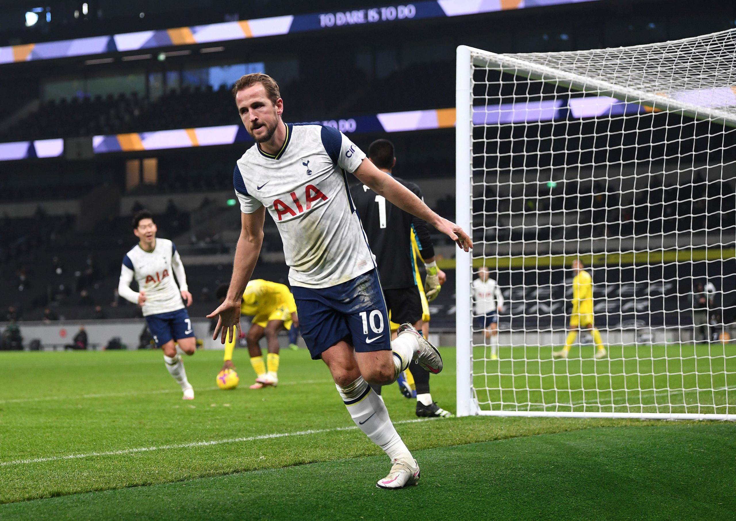 Harry Kane put Tottenham 1-0 up but they succumbed to an Ivan Cavaleiro goal late on. (GETTY Images)